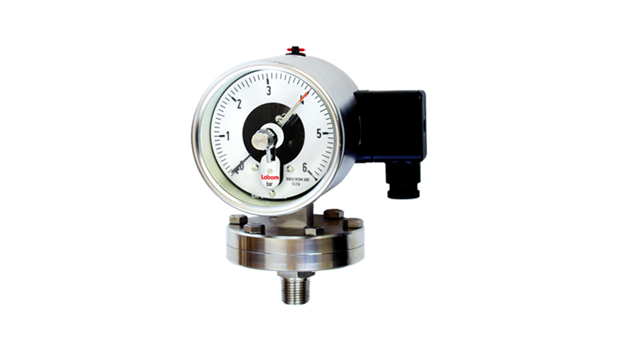 BE4200 Pressure Gauge with Switch | Tradinco Instruments