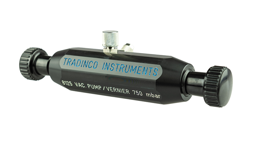8125 Vacuum Hand Pump | up to -0,75 bar | Tradinco Instruments