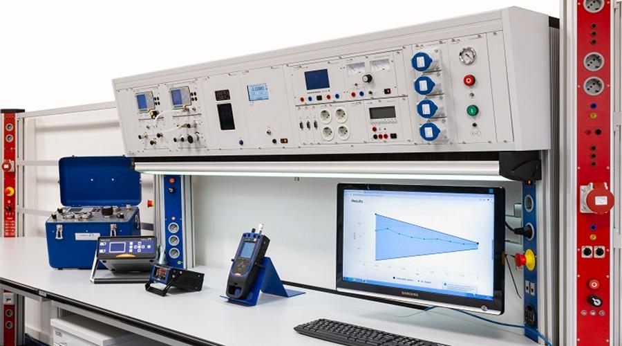 Kalibratie Testbank Setup | Tradinco Instruments