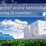 Waterstof online kennisdag